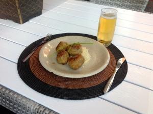"""Couscous, falafel ja """"la clara"""" - erinomainen yhdistelmä"""